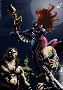 Inhumans_by_genekelly